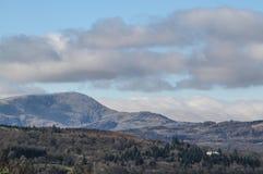 Montañas en Ambelside, CUmbria Fotografía de archivo
