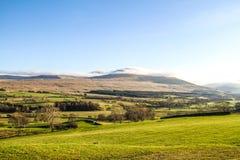 Montañas en Ambelside Cumbria Imágenes de archivo libres de regalías