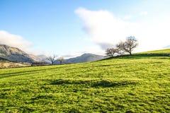 Montañas en Ambelside Cumbria Fotografía de archivo