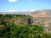 Montañas en Armenia Imagen de archivo libre de regalías