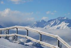 Montañas en Austria Imagenes de archivo
