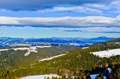 Montañas en Austria Imagen de archivo libre de regalías