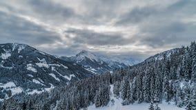 Montañas en Austria Foto de archivo libre de regalías
