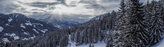 Montañas en Austria Fotografía de archivo libre de regalías