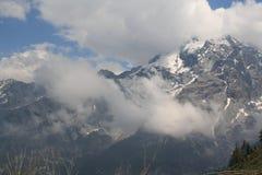Montañas en Austria, año 2009 Foto de archivo libre de regalías