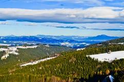 Montañas en Austriag Foto de archivo libre de regalías