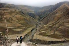 Montañas en Azerbaijan Foto de archivo libre de regalías