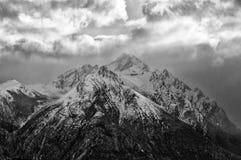 Montañas en Bariloche imagen de archivo libre de regalías