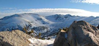 Montañas en Borovets, Bulgaria de Rila imágenes de archivo libres de regalías