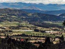 Montañas en Boyaca fotos de archivo