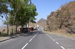 Montañas en Cabo Verde Fotografía de archivo libre de regalías