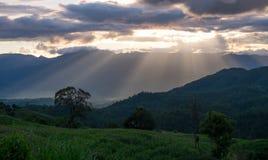 Montañas en Chiang Mai tailandia Fotos de archivo