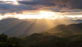 Montañas en Chiang Mai tailandia Imágenes de archivo libres de regalías