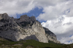 Montañas en Crimea fotografía de archivo