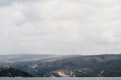 Montañas en Croatia Imagen de archivo libre de regalías