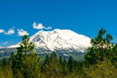 Montañas en el bosque Imagen de archivo