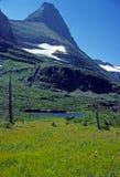 Montañas en el cielo foto de archivo