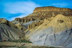Montañas en el desierto, Denver próxima Imagen de archivo libre de regalías