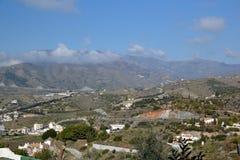 Montañas en el La Herradura imagenes de archivo
