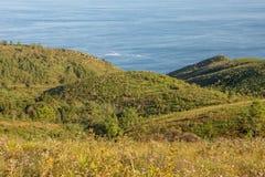 Montañas en el país vasco foto de archivo libre de regalías