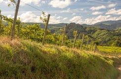 Montañas en el país vasco imagen de archivo