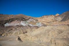 Montañas en el parque nacional de Death Valley Fotos de archivo