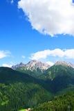 Montañas en el Tirol Foto de archivo