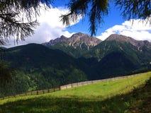 Montañas en el Tirol Imagenes de archivo