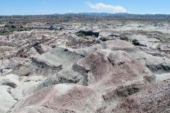 Montañas en el valle de Ischigualasto Imágenes de archivo libres de regalías