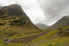 Montañas en Escocia Fotos de archivo libres de regalías