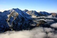 Montañas en Eslovaquia Imagenes de archivo