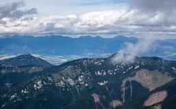 Montañas en Eslovaquia Foto de archivo libre de regalías