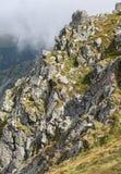 Montañas en Eslovaquia Fotografía de archivo