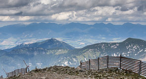 Montañas en Eslovaquia Fotos de archivo