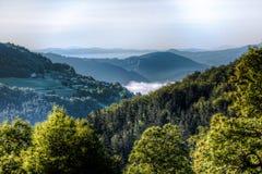 Montañas en Eslovenia Imágenes de archivo libres de regalías