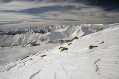 Montañas en Georgia 1 Imagen de archivo