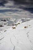 Montañas en Georgia 3 Foto de archivo libre de regalías