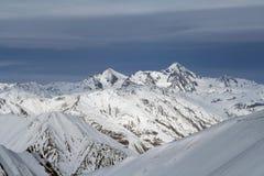 Montañas en Georgia 4 Fotografía de archivo libre de regalías