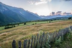 Montañas en Georgia Imagenes de archivo