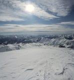 Montañas en Georgia 7 Imagen de archivo