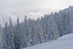 Montañas en Jasna. Foto de archivo