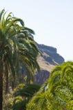 Montañas en la isla de Gran Canaria Fotos de archivo libres de regalías