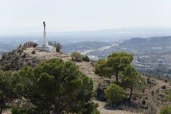 Montañas en la provincia de Alicante Imagen de archivo