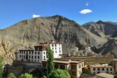 Montañas en Ladakh en la India Fotografía de archivo