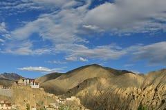 Montañas en Ladakh en la India Fotos de archivo
