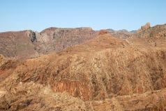 Montañas en las islas Canarias Imágenes de archivo libres de regalías