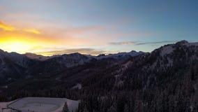 Montañas en las montañas Fotografía de archivo libre de regalías