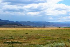 Montañas en los Estados Unidos occidentales Fotografía de archivo