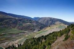 Montañas en Mérida fotos de archivo