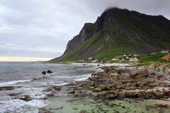 Montañas en Noruega Imagen de archivo